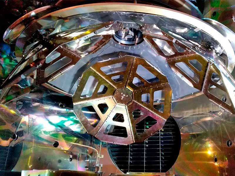 Планетарный подложкодержатель купольного типа